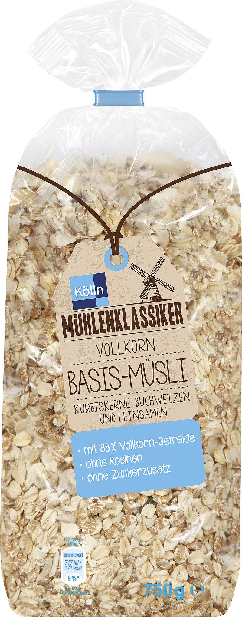 Die Müslisorten von Kölln entdecken | Kölln