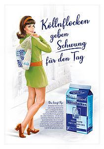 Kölln Werbemotiv 60er Jahre