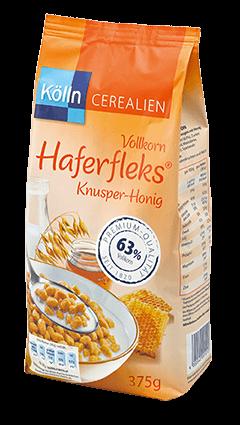 Kölln Vollkorn Haferfleks® Knusper-Honig