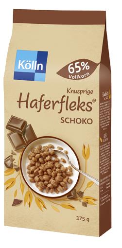 Kölln Knusprige Haferfleks Schoko