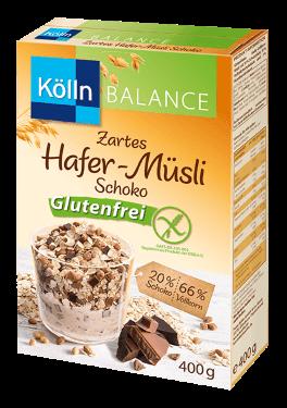 Kölln zartes Hafer-Müsli Schoko Glutenfrei