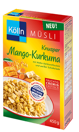Kölln Müsli Knusper Mango-Kurkuma
