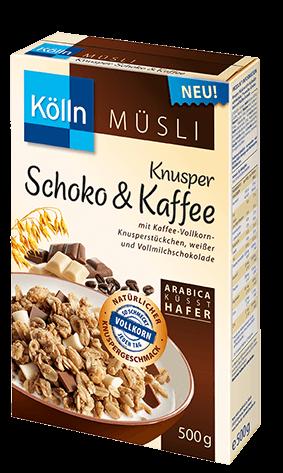 Kölln Müsli Knusper Schoko & Kaffee