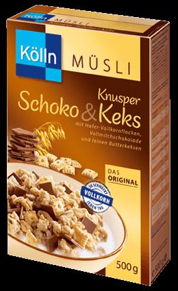 Kölln Müsli Knusper Schoko&Keks