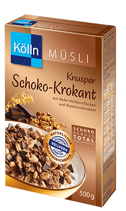 Kölln Müsli Knusper Schoko-Krokant