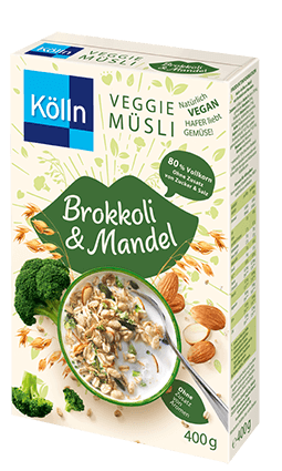 Kölln Veggie Müsli Brokkoli & Mandel