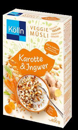 Kölln Veggie Müsli Karotte & Ingwer