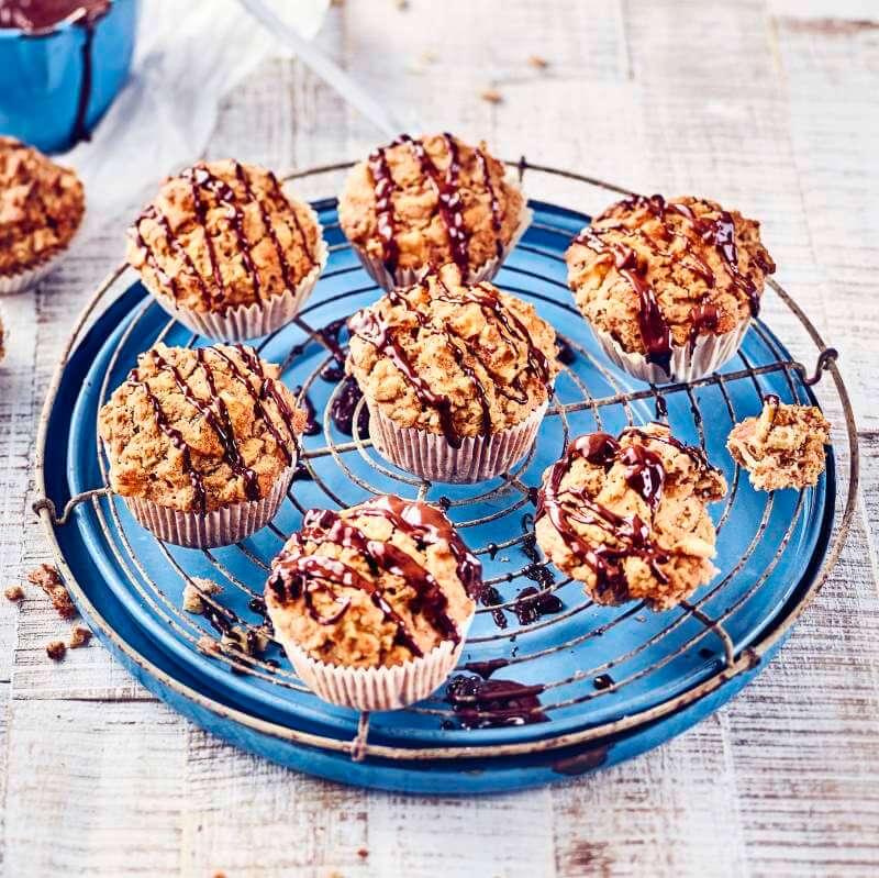 Vegane Müsli-Muffins