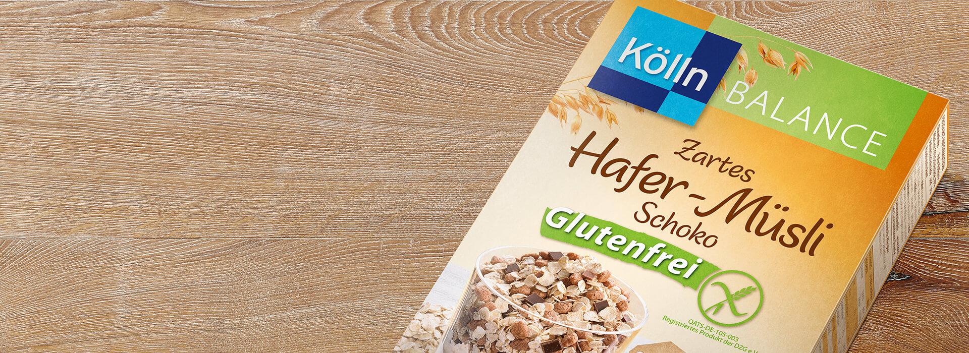 Glutenfreies Schoko Müsli