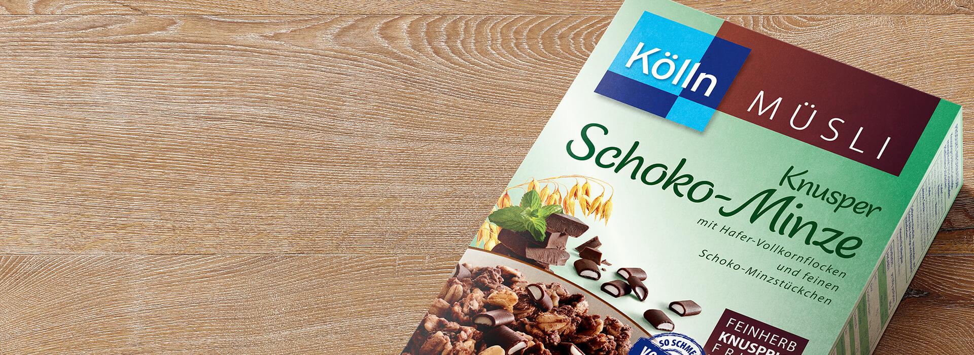 Knuspriges Schoko-Minz Müsli