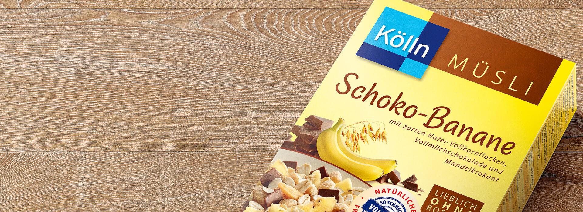 Schoko-Banane Müsli