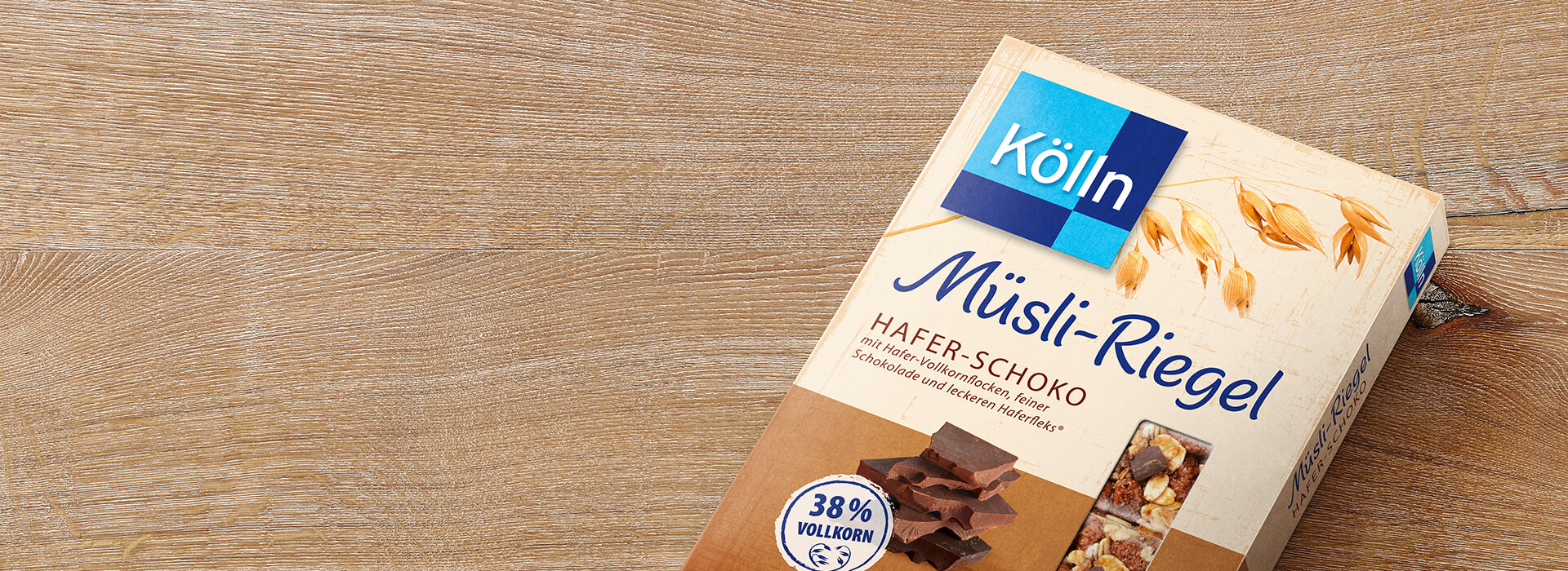 Müsliriegel Hafer-Schoko