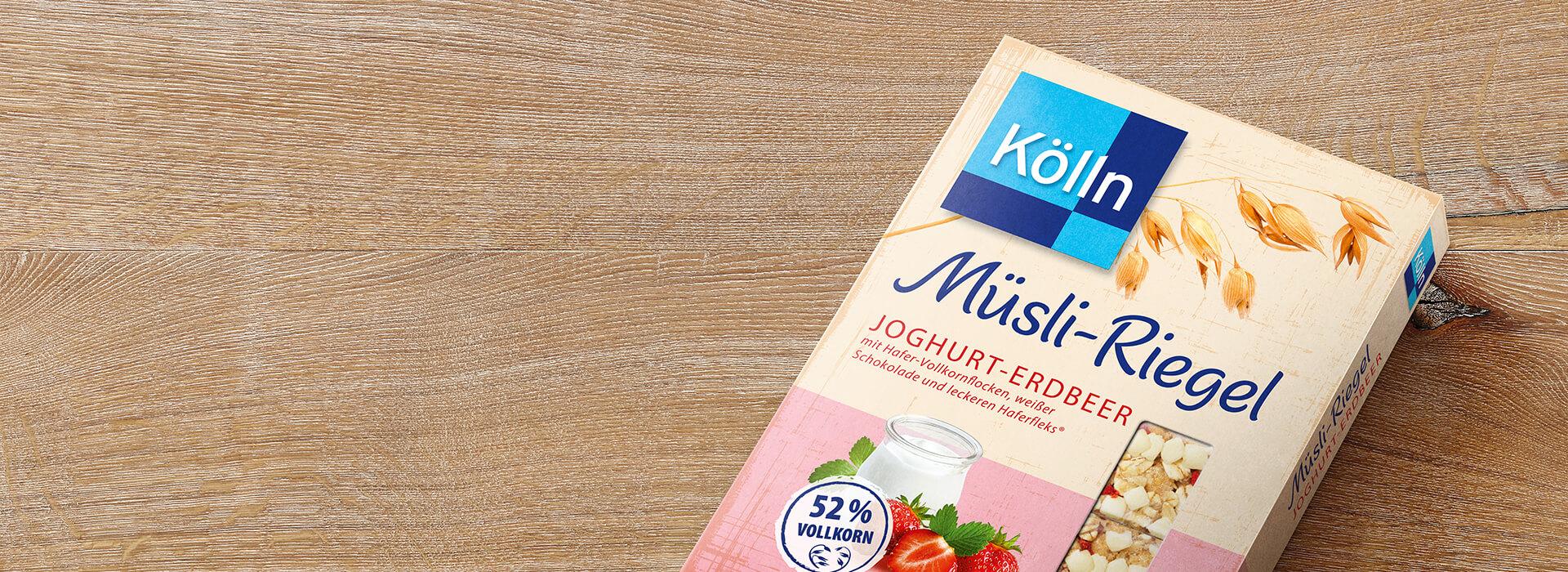 Müsliriegel Joghurt-Erdbeer