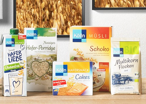 diverse Produkte von Kölln