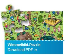 Wimmelbild Puzzle Basteltipp 1